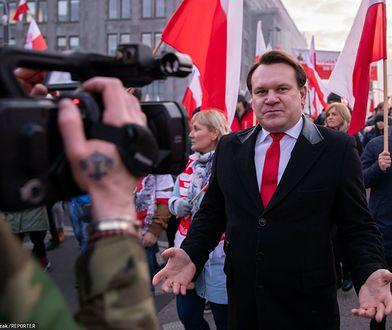 Bełżyce. Media: europoseł PiS Dominik Tarczyński spowodował wypadek