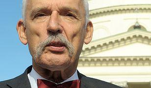 Janusz Korwin-Mikke jest zdumiony wyrokiem dla księdza-pedofila