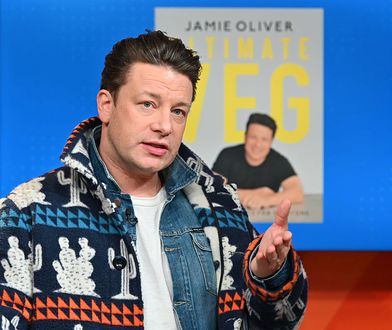 Jamie Oliver to brytyjski kucharz znany także w Polsce