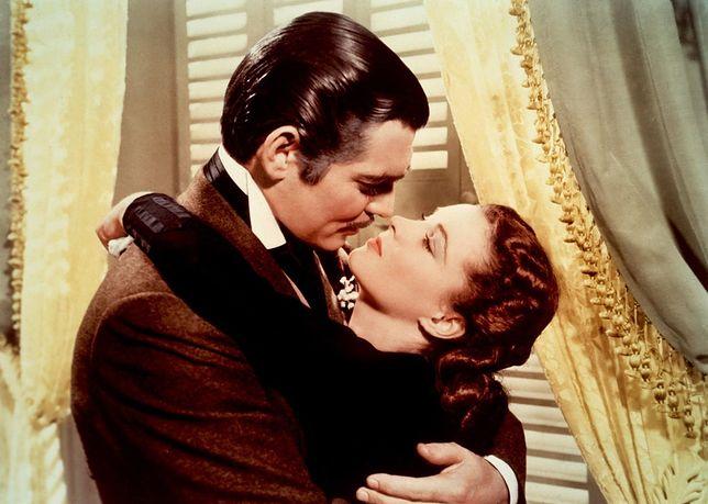 """Vivien Leigh i Clark Gable - """"Przeminęło z wiatrem"""""""