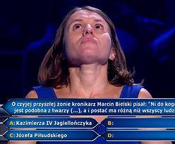 """Prawniczka z Warszawy w """"Milionerach"""". Nie znała odpowiedzi na proste pytania"""