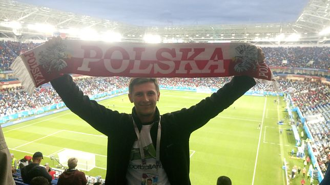 Dariusz Goliasz w tym sezonie obejrzał już 60 meczów. Jego wielka pasja zaczęła się 15 lat temu