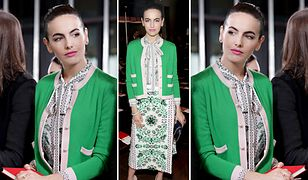 LOOK OF THE DAY: Camilla Belle w wiosennej stylizacji Tory Burch