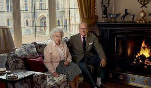 Elżbieta II z mężem Filipem