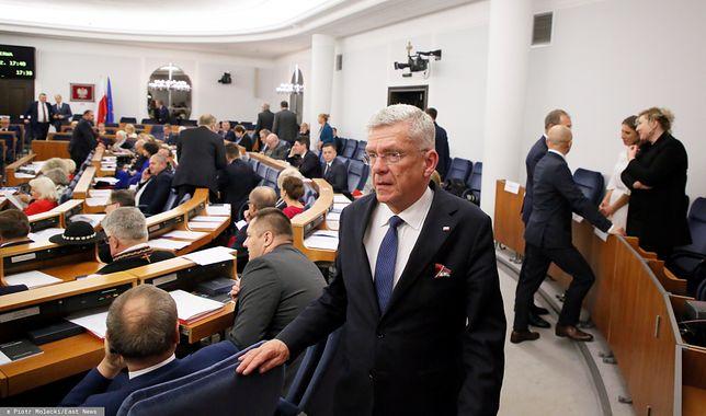 Stanisław Karczewski, były marszałek Senatu.