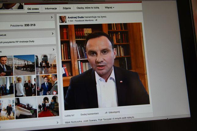 Andrzej Duda był aktywny w mediach społecznościowcyh