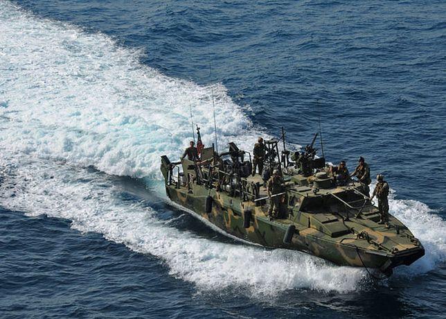 Amerykańska łódź patrolowa