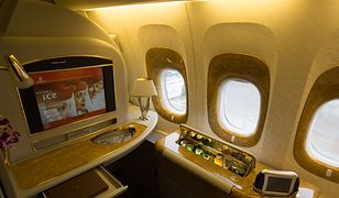 W takiej kabinie polecisz z Warszawy do Dubaju. Bilet kosztuje 10 tys. zł [GALERIA]