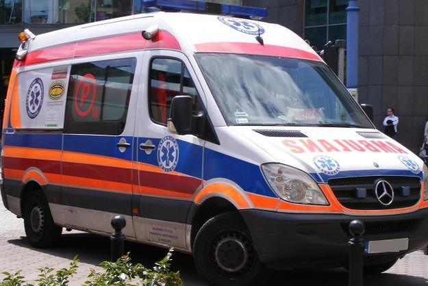 Dwie osoby trafiły do szpitala