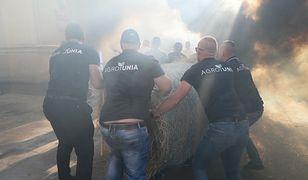 AGROunia w natarciu. Zablokowali Ministerstwo Rolnictwa