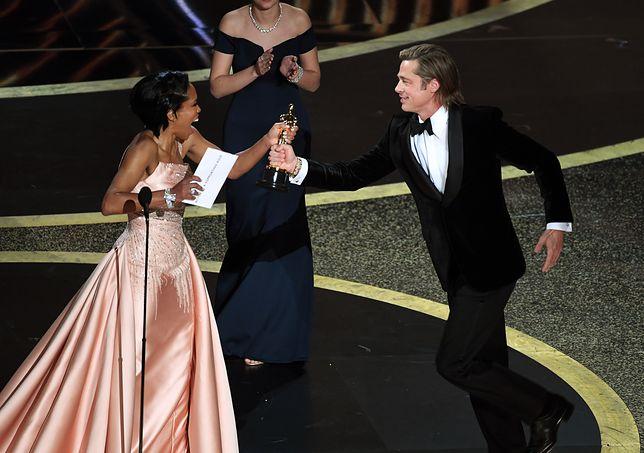 Brad Pitt odebrał nagrodę w kategorii aktor drugoplanowy