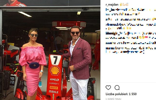 Radosław Majdan na Grand Prix Formuły 1. Weekendowa rozrywka godna arystokraty