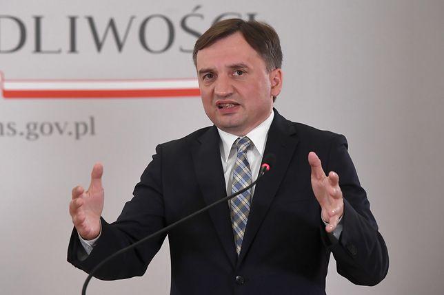 Zbiegniew Ziobro, minister sprawiedliwości