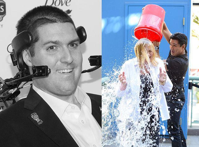 Pete Frates zainspirował gwiazdy do oblewania się lodowatą wodą i wpłacania pieniędzy na walkę z ALS