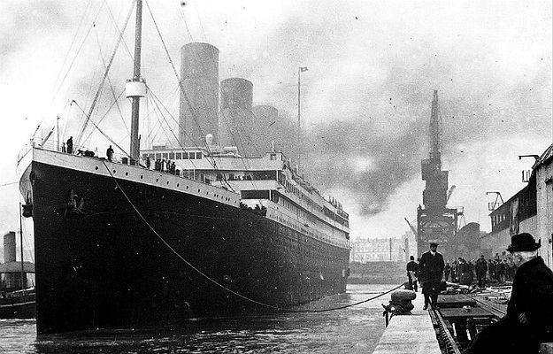 RMS Titanic w porcie w Southampton