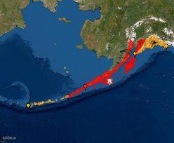Potężne trzęsienie ziemi na Alasce. Alarm przed tsunami