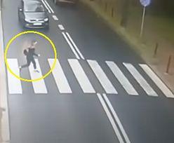 Potrącona na pasach piesza dostała mandat. Nietypowa sytuacja w Gliwicach