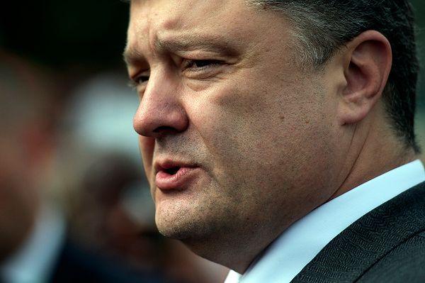 Prezydent Ukrainy Petro Poroszenko: ponad 600 żołnierzy w rękach separatystów