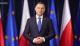 """Orędzie prezydenta Andrzeja Dudy. """"Każdy głos jest ważny"""""""