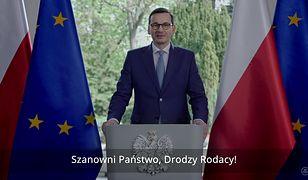 !5 lat Polski w UE. Premier Mateusz Morawiecki wygłosił orędzie do narodu