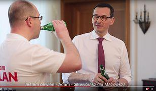Wybory do Europarlamentu 2019. Mateusz Morawiecki udzielił Adamowi Bielanowi poparcia