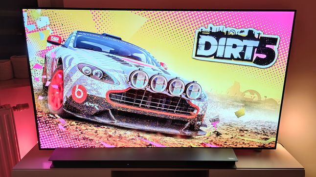 Dirt 5 oferuje tryb 120 FPS, gdzie świetnie sprawdza się VRR