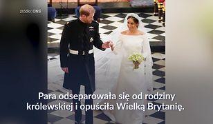 Rocznica ślubu Harry'ego i Meghan. Rodzina królewska nie złożyła życzeń, konflikt narasta
