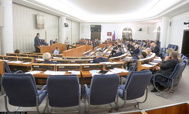 Senat podjął decyzję ws. ustaw sądowych