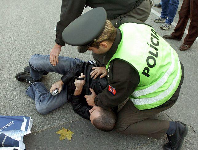 Słowacja. Policja starła się z przeciwnikami obostrzeń (PAP)