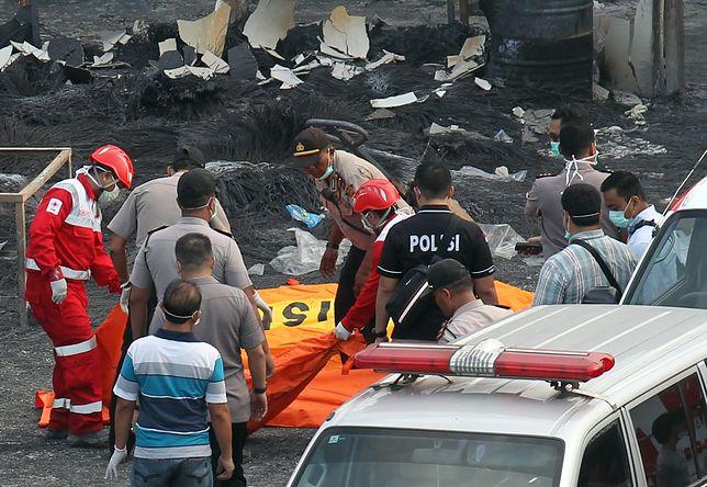 Wielu zabitych w pożarze fabryki w Indonezji. Wybuchły fajerwerki