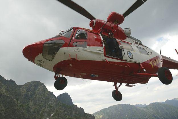 Wypadek turystki w Tatrach. Kobieta spadła ze stromego zbocza