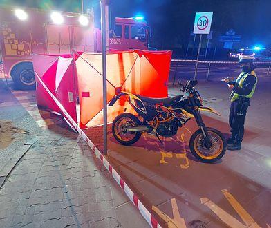 Poznań. Tragiczny wypadek przy moście. Nie żyje 30-latek