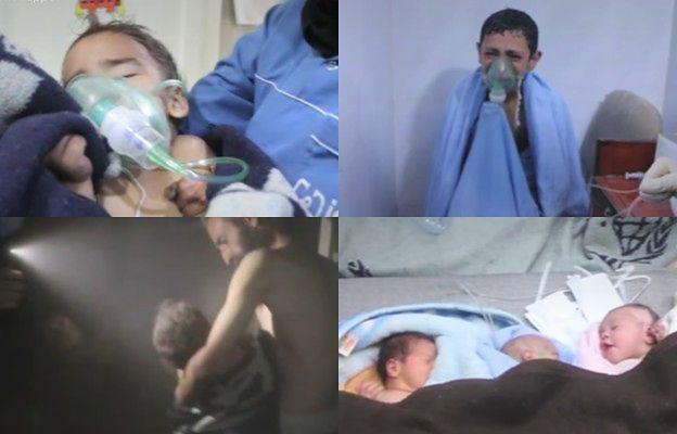 Szpital pod bombami. Telewizyjne kamery uchwyciły moment bombardowania kliniki w Aleppo