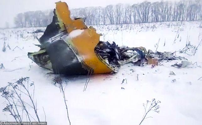 Samolot, który się rozbił pod Moskwą, to Antonov An-148 linii Saratov Airlines