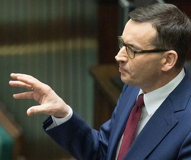 Mateusz Morawiecki - szef rządu RP.
