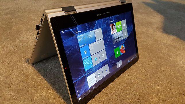 Notebooki 2w1 zwykle mają małe przekątne