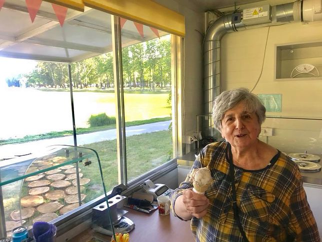 Pani Lucyna w wieku 79 lat założyła własną firmę. Po raz pierwszy w życiu