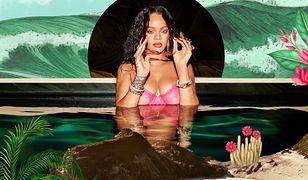Rihanna w zmysłowej odsłonie. Kusi fanów ponętną sesją