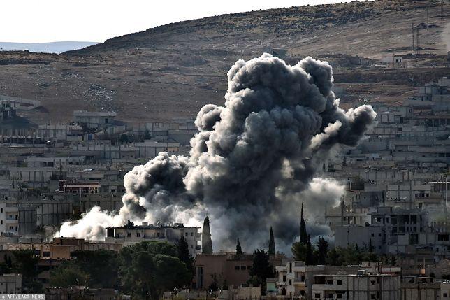 USA przeprowadziło naloty w Syrii i Iraku