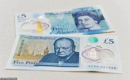 Nowe pięć funtów. Churchill na pierwszym brytyjskim plastikowym banknocie
