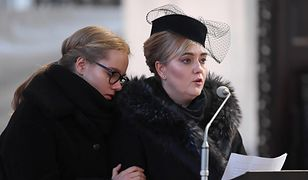 Magdalena Adamowicz z córką Antoniną