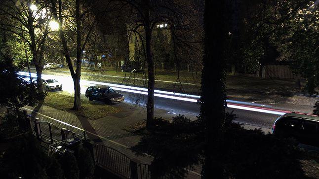 "Tryb ""Light Trace"", 4,30 mm, 10 s, f/3,1, ISO 100"