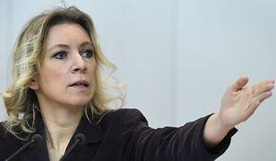 Rzeczniczka rosyjskiego MSZ Anna Zacharowa