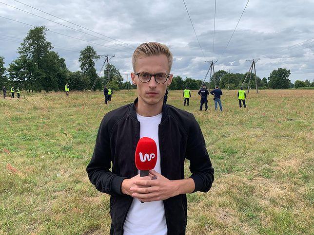 Dawid Żukowski jest cały czas poszukiwany. Na miejscu jest nasz reporter Klaudiusz Michalec