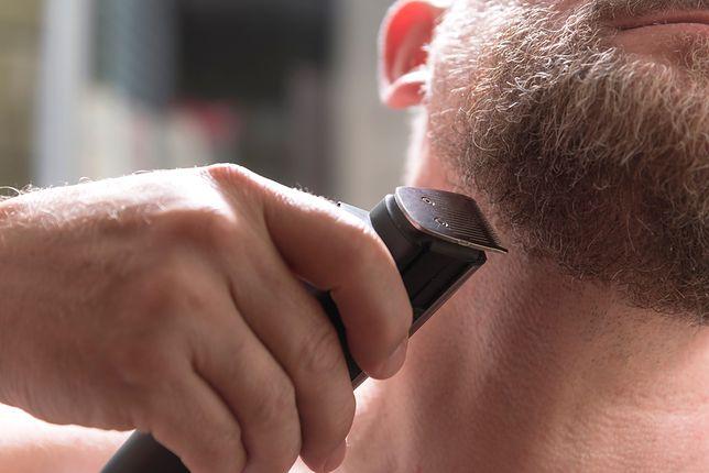 Trymowanie brody wymaga wprawy i techniki