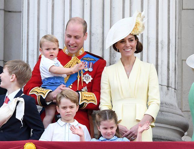 Rodzina książąt Cambridge w komplecie.