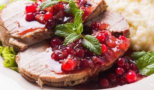 Sos chrzanowo-borówkowy do mięs