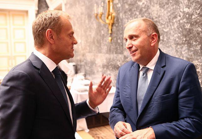 Grzegorz Schetyna uważa, że nie dojdzie do stworzenia wspólnej listy do Parlamentu Europejskiego pod przewodnictwem Donalda Tuska