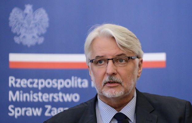 Witold Waszczykowski: przy wyborze szefa Rady Europejskiej doszło do złamania wszelkich reguł