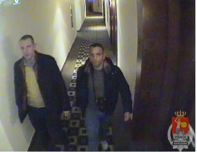 Czy ktoś rozpoznaje tych mężczyzn? [zdjęcia z monitoringu]